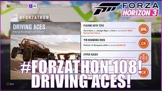 Forza Horizon 3 #FORZATHON 108: Driving Aces