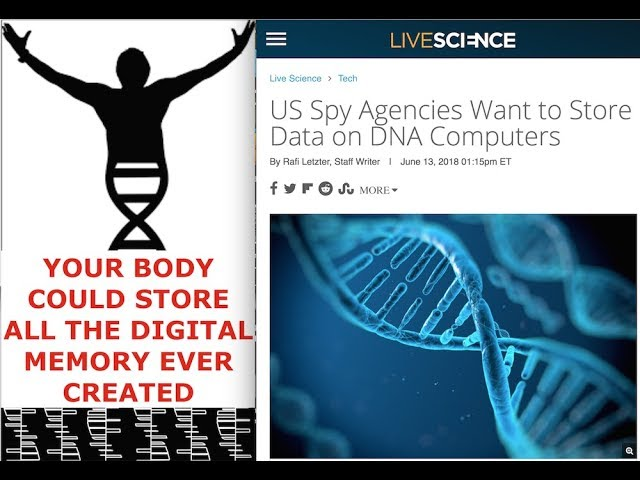 Spy Agencies Using DNA for Storage, Your Body Could Hold all Data Ever Created