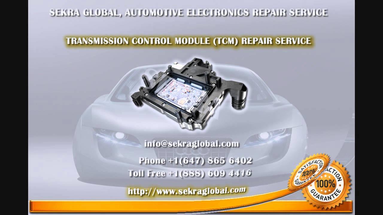 Audi TCM - Transmission Control Unit - TCM, Repair - YouTube