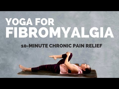 10 Minute Yoga for FIBROMYALGIA PAIN – Gentle Stretches for Chronic Pain Relief [Follow Along]