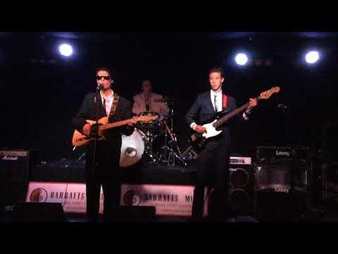 Band Retro Performing at Club 54 Launceston Tasmania stage close up.