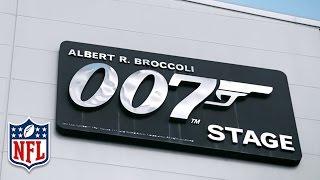 James Bond Backstage Tour   Aaron Donald & Eugene Sims   NFL in London   NFL360