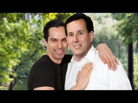 Heartbroken Santorum Condemns Gay Marriage For Two-Timing Jerks Like Nick