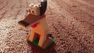 собака из лего [classic 10702]
