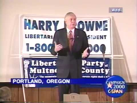 2000 Harry Browne Campaign Rally