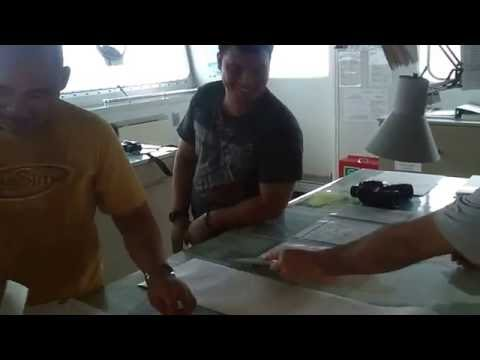 MV Bulk carrier in a hurricane