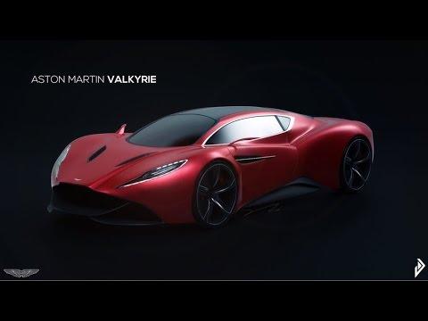 Aston Martin Valkyrie Concept Supercar 2016 Youtube