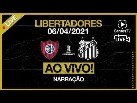 🔴 AO VIVO: SAN LORENZO 1 x 3 SANTOS   CONMEBOL LIBERTADORES (06/04/21)