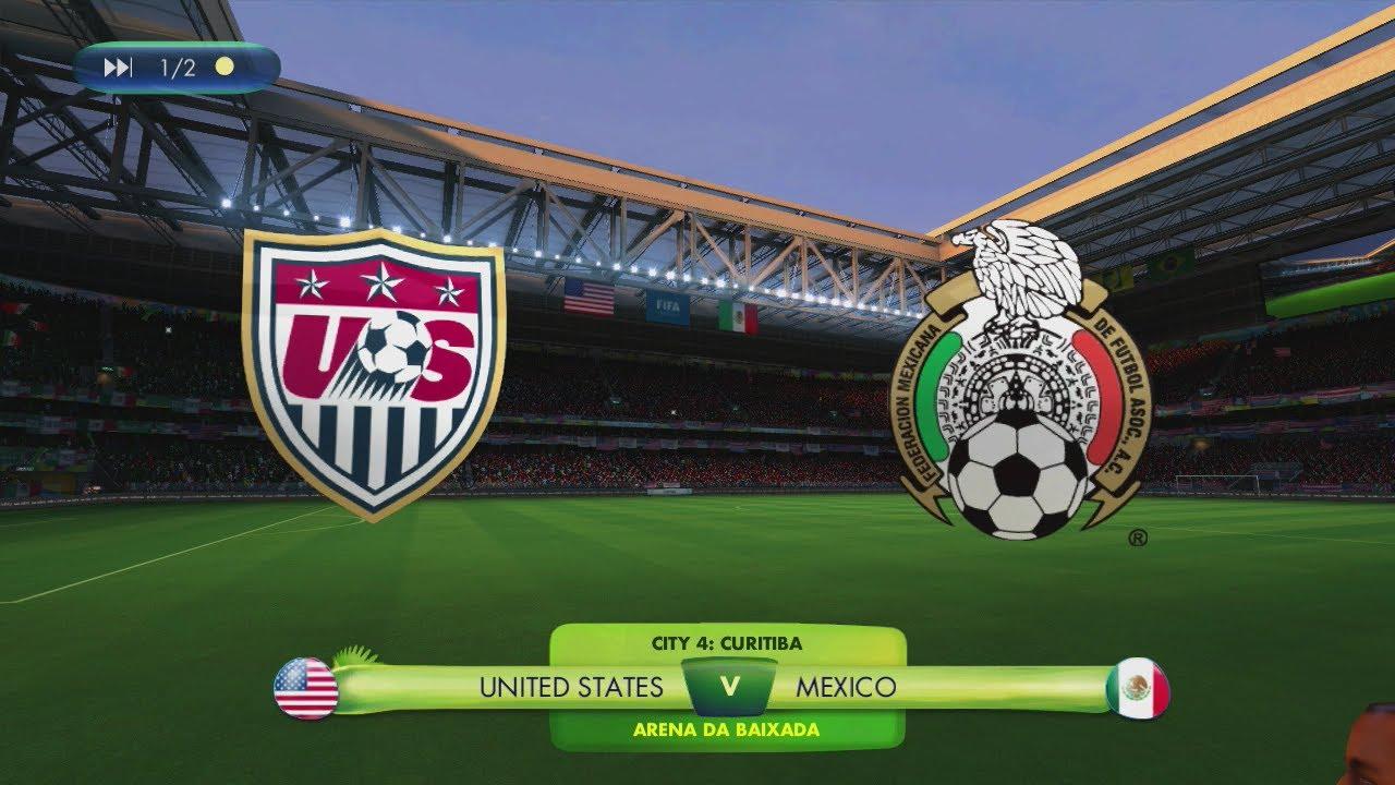 2014 Fifa World Cup Brazil United States Vs Mexico Road To Rio