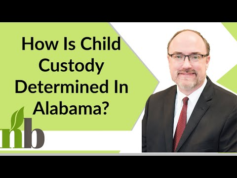 How Is Child Custody Determined In Alabama? Child Custody & Visitation in Alabama