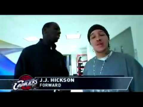 Delonte West to JJ Hickson: You