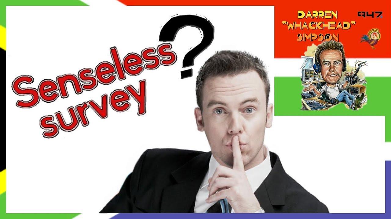 Senseless Survey