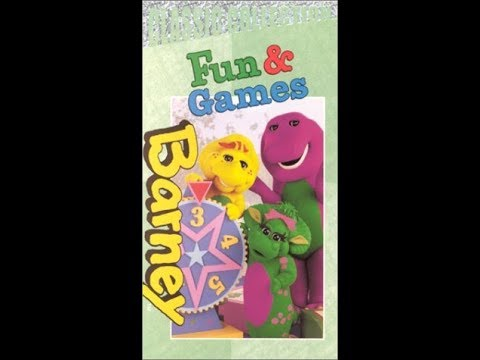 barney fun and games 2000