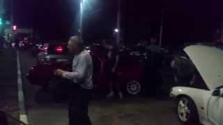Дед зажигает под Trap на уличных гонках в Туле