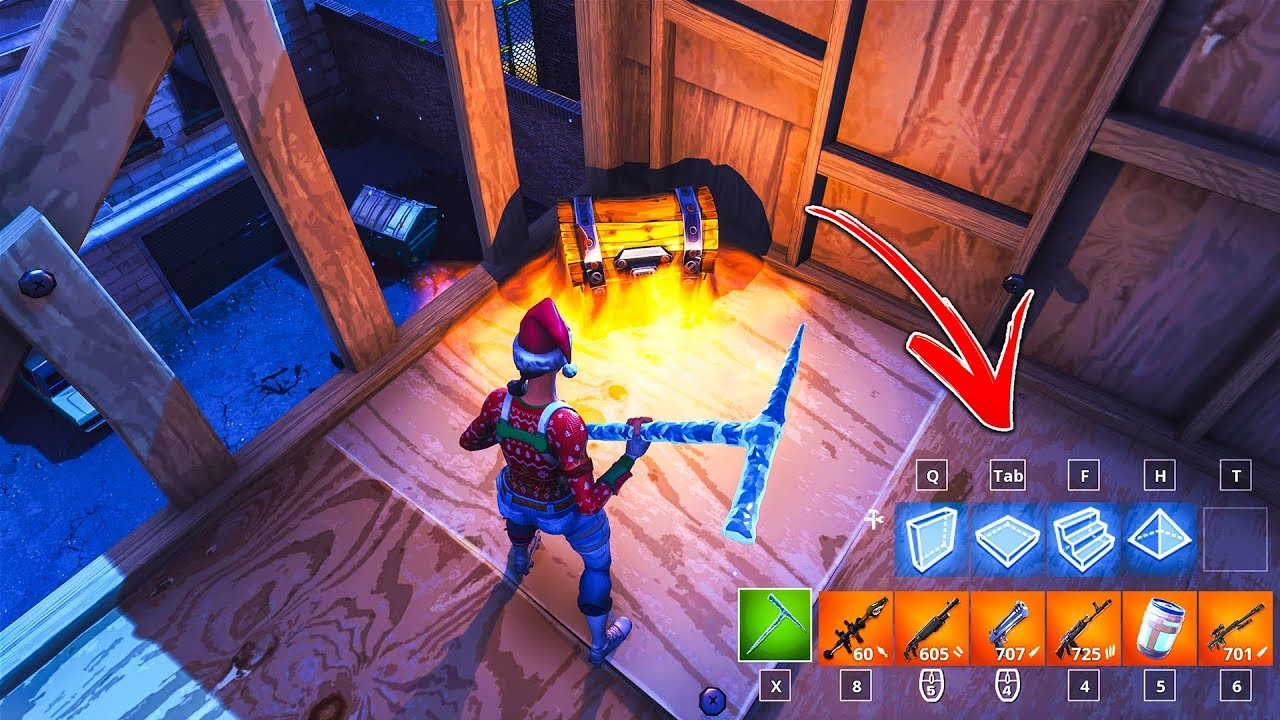 How to CARRY 6 ITEMS in YOUR INVENTORY by using this glitch in Fortnite! (Fortnite Inventory Glitch)