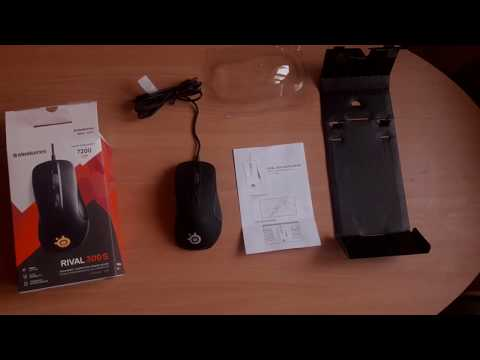Мышь SteelSeries Rival 300S USB Black (SS62488)