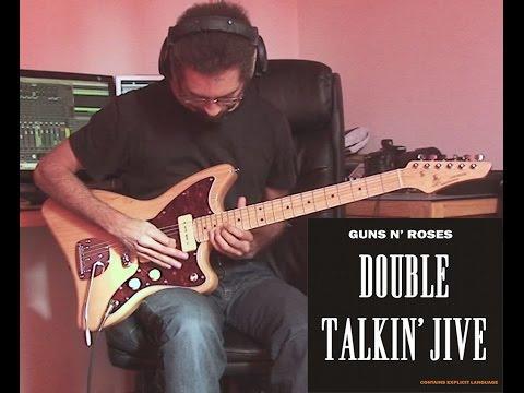 Guns'N'Roses Double Talkin Jive solo cover (SX Liquid Ash)