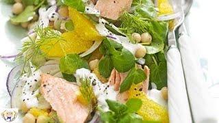 Salmon Fennel And Orange Salad
