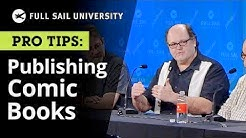 Promoting and Publishing  Comic Books - Advice for Independent Comic Writers and Artists | Full Sail
