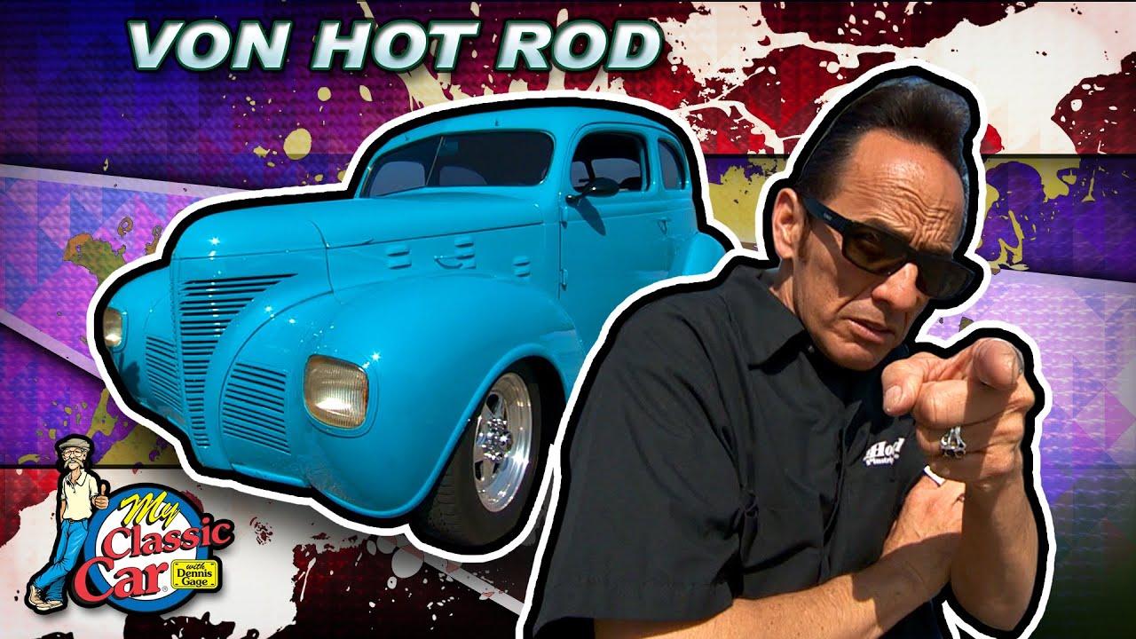 Famous Pinstriper Von Hot Rod Youtube