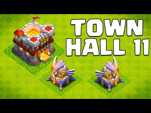 Clash of Clans Town Hall 11 Update (& 2015 Update Ideas!)