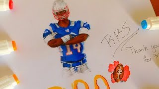 FORTNITE NFL FOOTBALL SKIN DRAWING HOW TO DRAW NFL SKINS | 300 SUB SPECIAL