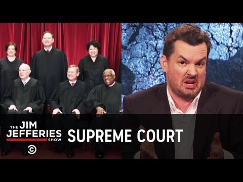 Supreme Court Justices Don't Age Well - The Jim Jefferies Show - Uncensored