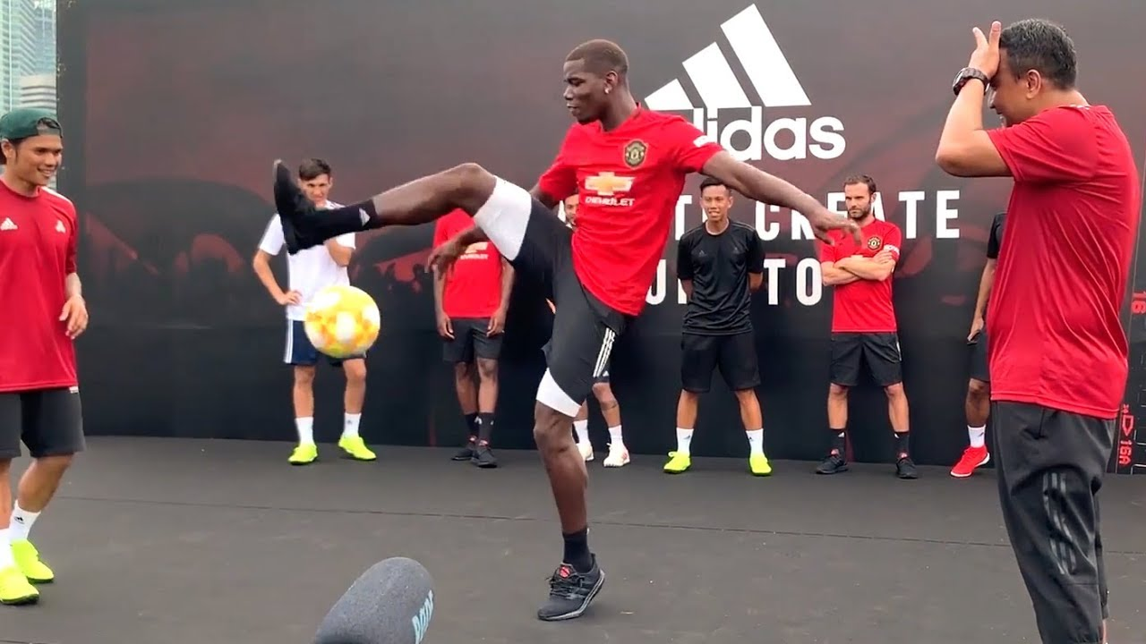 'I couldn't run!' - Manchester United star Pogba says it took him a ...