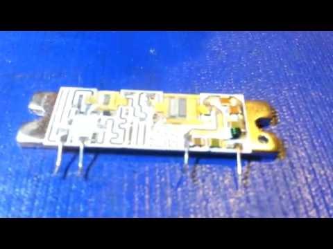 Alinco DR-605 no transmit power on VHF. Repairing the VHF power module.