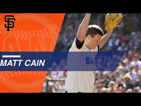 A look at Matt Cain's career