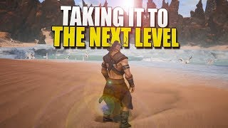 Taking It To The NEXT LEVEL (Conan Exiles Solo Survival) #5