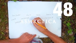 ASMR Outdoors | Writing your names Pt 2 | Cough Drop | Thanks for all support