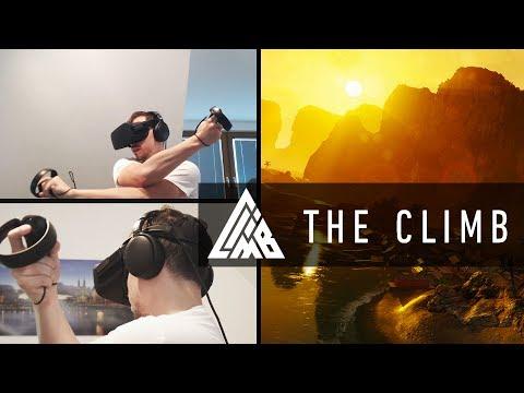 KLETTERTOUR im CANYON - THE CLIMB VR