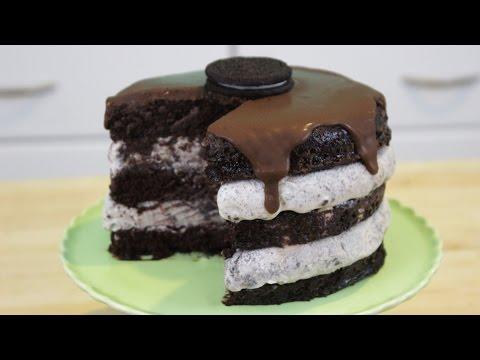 how-to-make-oreo-ice-cream-cake!