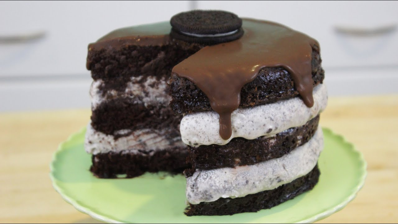 How to make oreo ice cream cake youtube ccuart Gallery