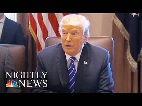 Donald Trump Designates North Korea A State Sponsor Of Terrorism | NBC Nightly News