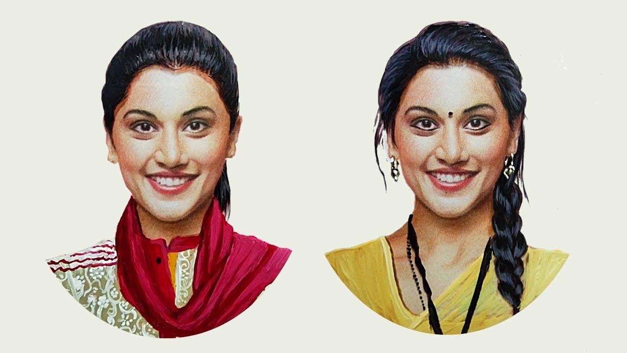 Happy Birthday Taapsee Pannu | RK Aadil | Journey Art