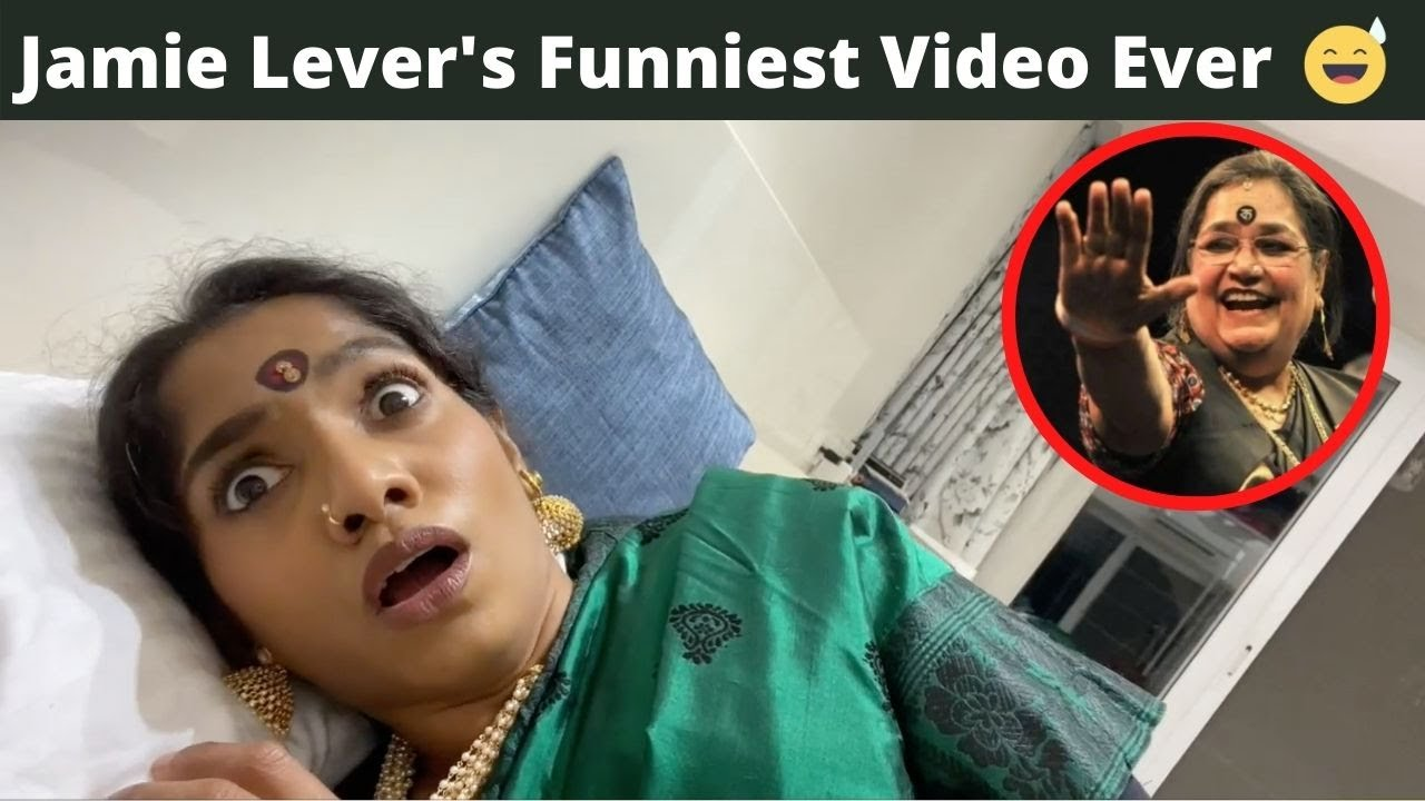 Johnny Lever Daughter Jamie Lever Funniest Mimicry Of Usha Uthup ji | Jamie Lever Funny Video