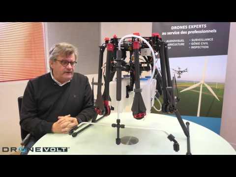 drone volt drone spray autonome. Black Bedroom Furniture Sets. Home Design Ideas