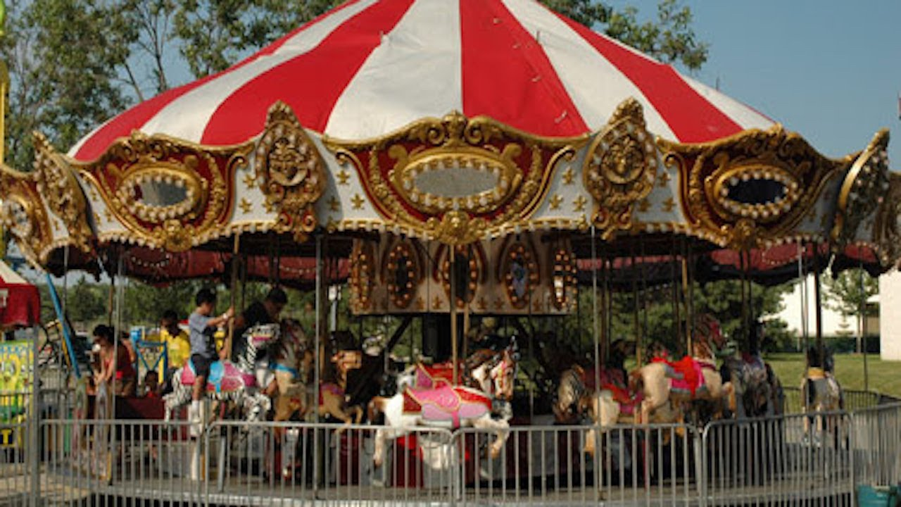 Carnival Carousel Ride For Kids SGA Fun Tube - YouTube