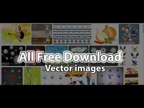 How To Download Free Vector Graphics From Internet.