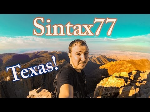 A Tour of Texas - Hiking Big Bend & Mexican Border Roadtrip
