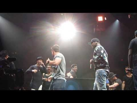 Mark Wahlberg Good Vibrations NKOTB NYC 62215