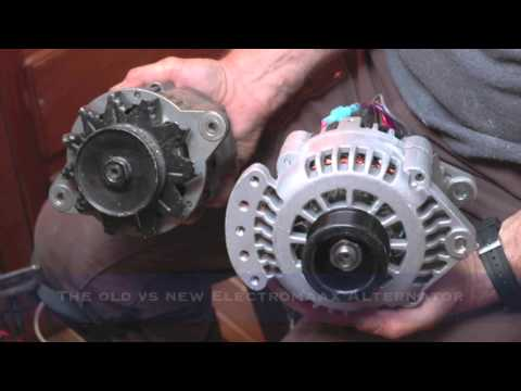 install of electromaax marine alternator on yanmar engine