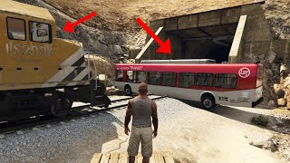 CAN YOU STOP THE TRAIN IN GTA 5?