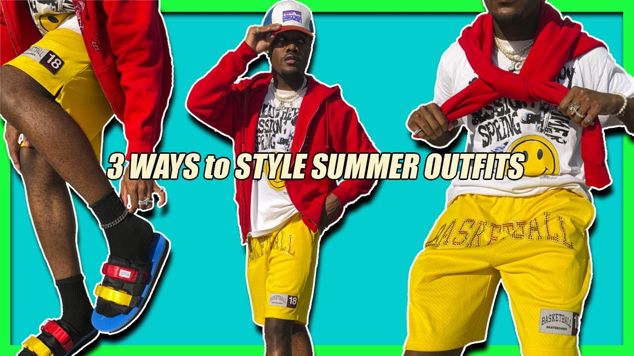 3 EASY Ways To STYLE SUMMER OUTFITS 2020 | Men's Fashion & Streetwear