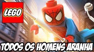 Lego Marvel Super Heroes - Todos os Homens Aranha