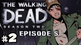 CAMPFIRE STORIES - The Walking Dead Season 2 Episode 5 No Going Back Walkthrough Ep.2
