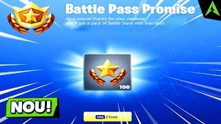 "How to get the FREE ""Battle Stars"" for the Tier in Fortnite: Battle Royale!"