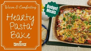 Budget Meals: Warm and Comforting Johnny Marzetti Pasta Bake